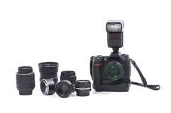 Digital Camera And Equipment Royalty Free Stock Photos