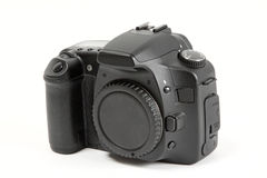 Digital Camera Body. The body only of a modern digital slr camera Stock Photos