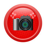 Digital camera button Stock Photos