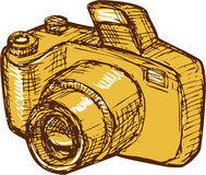 Digital Camera Drawing Stock Images