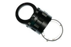 Digital camera extension ring Stock Images