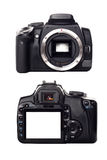 Digital Camera Front And Rear View Royalty Free Stock Image