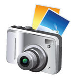 Digital Camera, illustration Royalty Free Stock Photos
