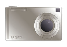 Digital camera illustration Stock Photography