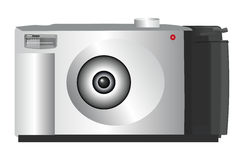 Digital Camera. An illustration of a digital camera Royalty Free Stock Image