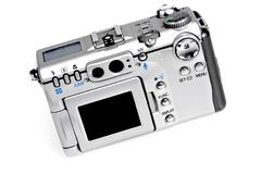 Digital Camera Isolated Stock Photos