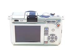Free Digital Camera Isolated On White Background Stock Photography - 13595192