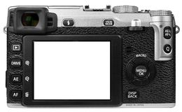 Digital Camera Isolated Royalty Free Stock Photo
