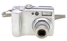 Digital camera isolated on white Stock Photo