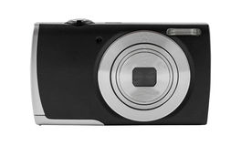 Digital camera isolated on white background Stock Image