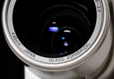 Digital camera lens Royalty Free Stock Photography