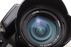 Digital camera lens Stock Images