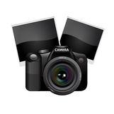 Digital camera lens Stock Image