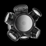 Digital camera lenses Royalty Free Stock Photo