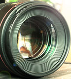 Digital camera lenses Royalty Free Stock Images