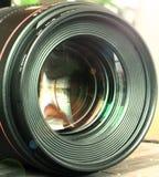 Digital camera lenses Royalty Free Stock Images