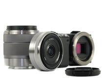 The digital camera Royalty Free Stock Photos