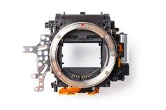 Digital camera mirror box Stock Photos