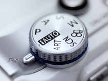 Digital Camera Mode Dial Royalty Free Stock Photography