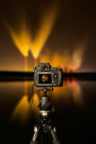 Digital camera the night view Stock Image