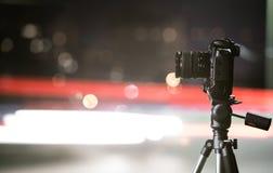 Digital camera the night view of city. Stock Image