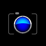 Digital Camera - photography logo Stock Photos