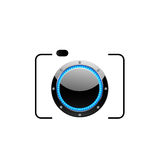 Digital Camera - photography logo stock illustration