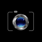 Digital Camera- photography logo Royalty Free Stock Photo