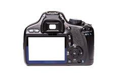 Digital camera rear view Royalty Free Stock Photo