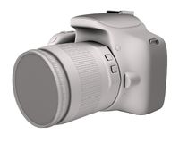 Digital camera render Royalty Free Stock Photography