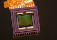 Digital Camera Sensor. Close up of a digital camera sensor Royalty Free Stock Photos
