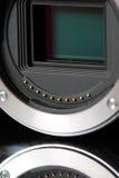 Digital camera sensor Royalty Free Stock Images