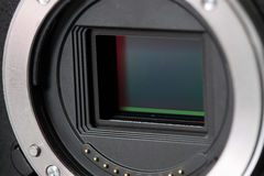 Digital camera sensor Royalty Free Stock Image