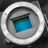 Digital camera sensor/APS-C CMOS sensor Stock Image