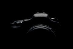 Digital camera silhouette Royalty Free Stock Photos