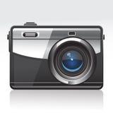 Digital Camera. Vector Illustration of a Digital Camera Stock Photos