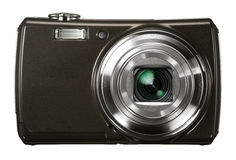 Digital Camera with zoom Stock Photos