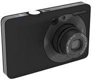 Digital camera with zoom lens Royalty Free Stock Image