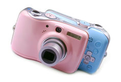Digital cameras Royalty Free Stock Images