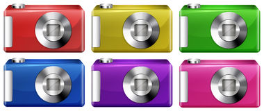Digital cameras Royalty Free Stock Photo
