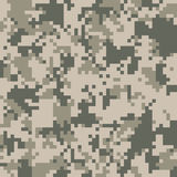 Digital camo texture Stock Images
