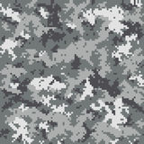 Digital camouflage pattern royalty free illustration