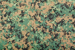 Digital camouflage pattern Stock Images