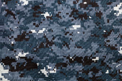 Digital camouflage pattern. Fabric texture Royalty Free Stock Image