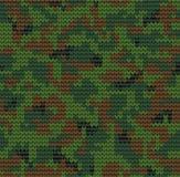 Digital camouflage pattern_2 Royalty Free Stock Image