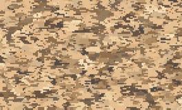 Digital camouflage pixel pattern stock illustration