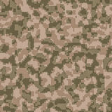 Digital camouflage seamless background pattern Stock Image