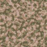 Digital camouflage seamless background pattern Stock Image