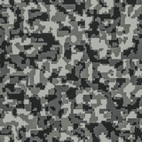 Digital camouflage seamless background pattern Stock Photos