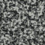 Digital camouflage seamless background pattern Stock Photos